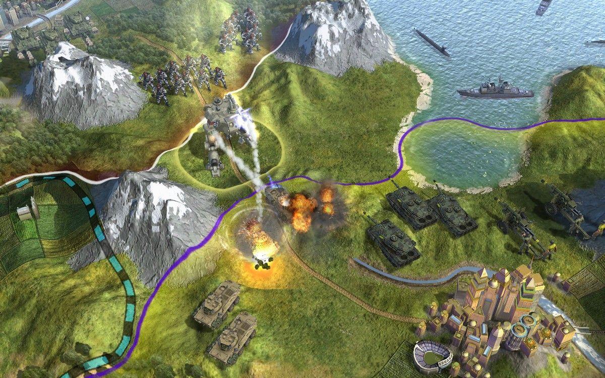 Civilization 5 скачать торрент механики на русском - 3