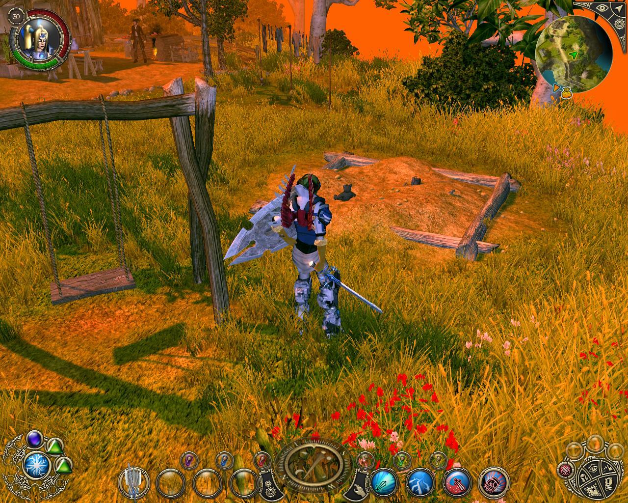 Все скриншоты из игры sacred 2: fallen angel