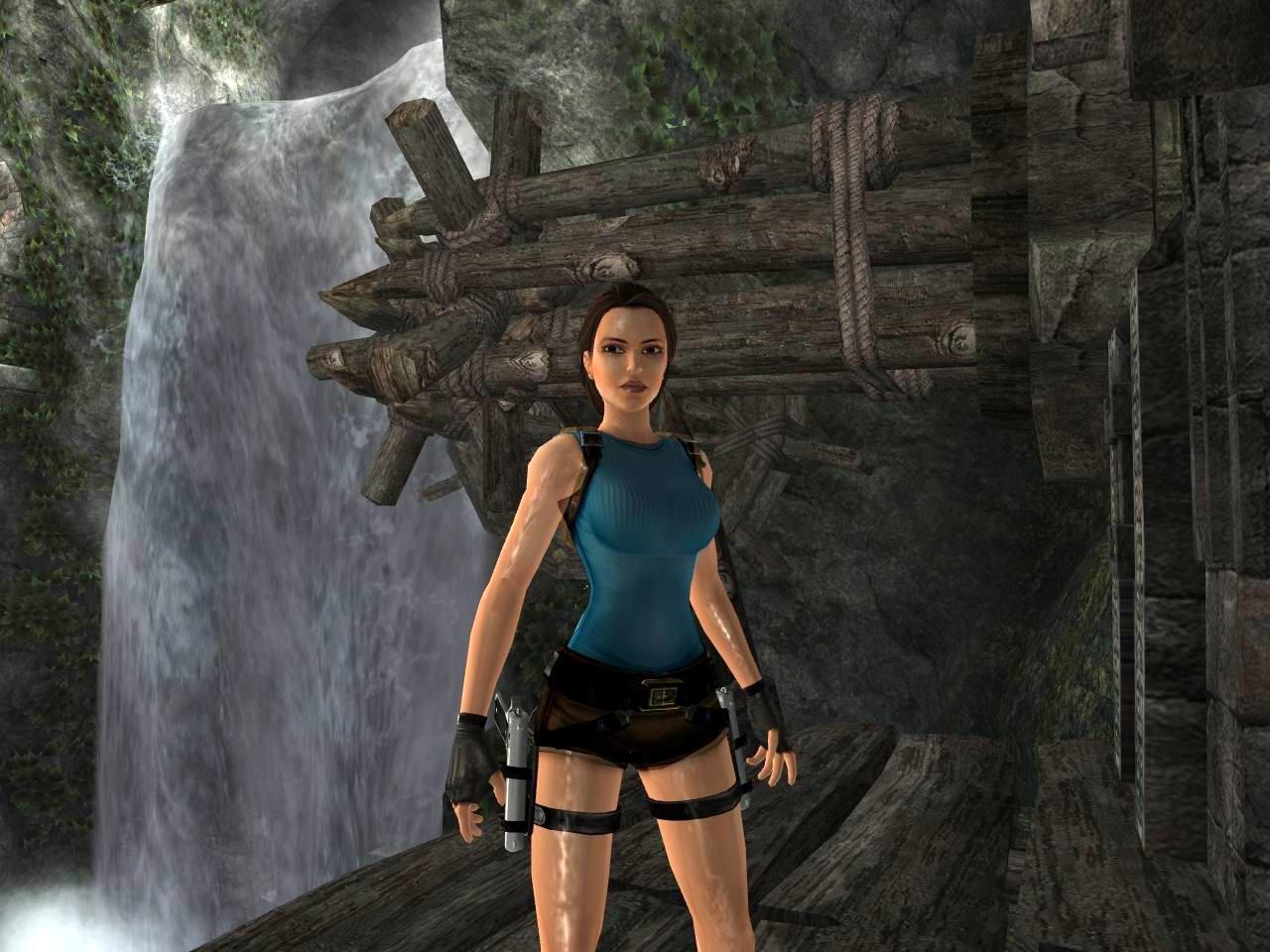 Lara croft tomb raider anniversary big booty  nude woman