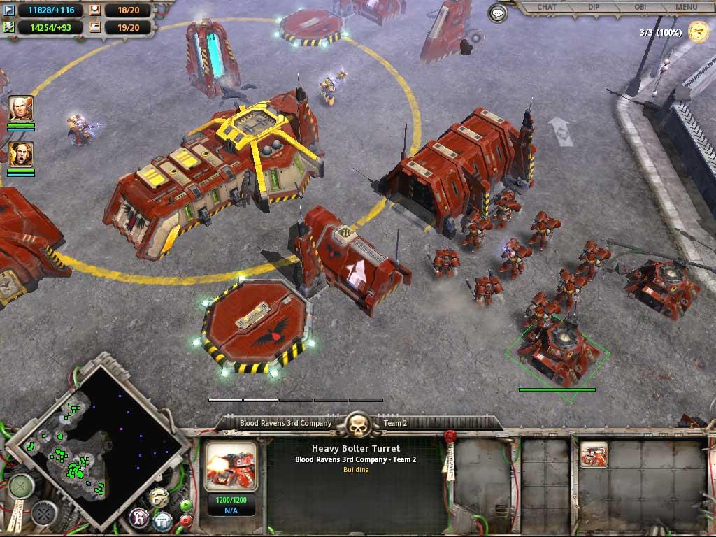 Warhammer 40,000: dawn of war: dark crusade - warhammer 40,000: dawn of war: dark crusade - screenshot 1 a-warhammer